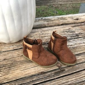 Baby Girls Brown Boots